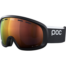 POC Fovea Mid Clarity Svømmebriller, uranium black/spektris orange